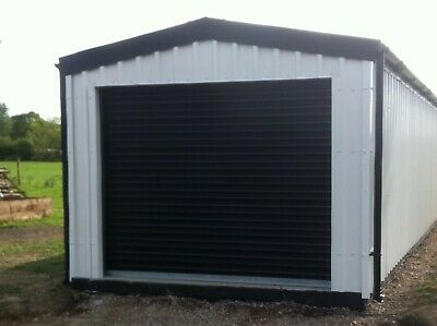 GARAGE/WORKSHOP BY STEEL BUILD MASTERS (3m width x 6m length x 2.4m eve height)