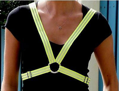 Bike Safety Vest High Visibility Monkey See Cycling Safety Harness With Comfort