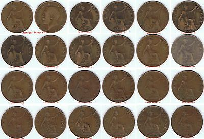 1911 to 1936 George V Bronze Penny DISCOUNTS up to 80% available read Descriptio
