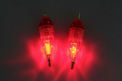 2pcs LED Deep Drop Underwater Fishing  Light Mini  8.5g/6cm