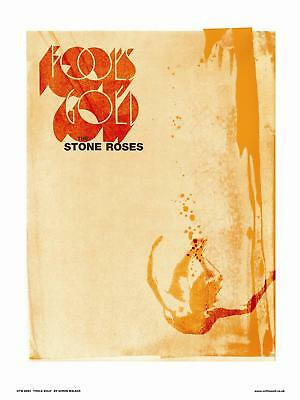 Stone Roses Fools Gold Poster Art Print By Simon Walker OTW 081)