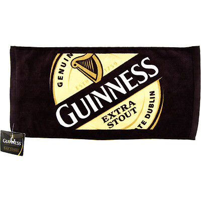 Guinness Extra Stout Bar Towel-Collectible Ireland Pub Decor Irish Drinking Gift