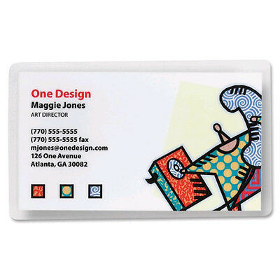 "Business Card  2.25"" x 3.75""-- 5 mil Laminating Pouches Box of 1200 Heat Sealing"