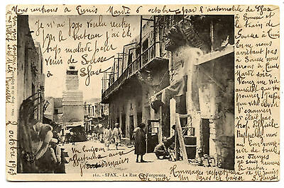 Sfax.rue Forgerons.street Of The Smiths.1903.tunisia.
