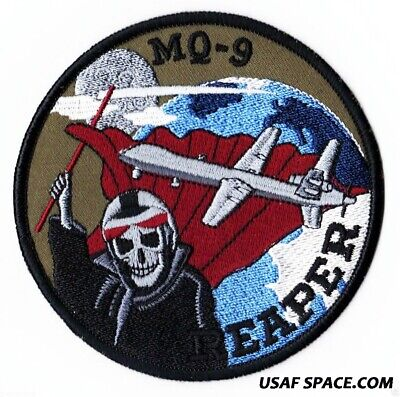 Usaf Mq-9 Reaper B - Predator - Missile Attack Drone Uav - Dod Military Patch