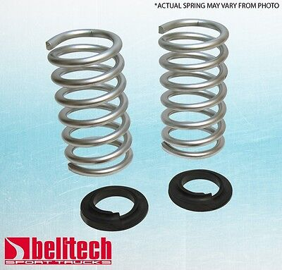 """Belltech 94-04 Chevy S10/S15 6 cyl 2""""/3"""" Front Lowering Springs"""