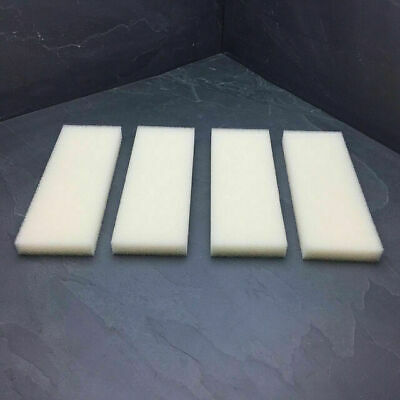 4 x COMPATIBLE FOAMS SUITABLE FOR 204 205 206 304 305 306 EXTERNALS FOAM SPONGE
