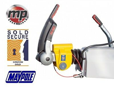 Maypole Stronghold Security Hitch Lock For Alko Hitches Caravan Trailers #SH5412