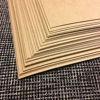0.022 Chipboard 8.5x11 - 30 Sheets lightweight for crafts scrapbook shipping