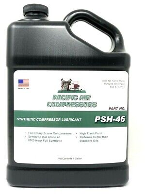 1 Gallon # Psh-46 Synthetic Lubricant Compressor Oil Air Compressor Parts