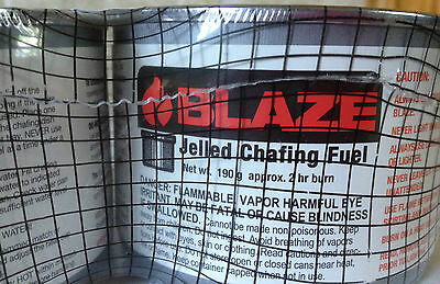 Blaze Jelled Chafing Dish Fuel, 2 Pack 01 (702)