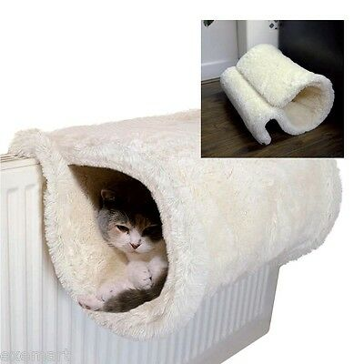 Pet Cat Tunnel. Play Home. Hideout. Sleeper.  Radiator or Floor Mounted Luxury