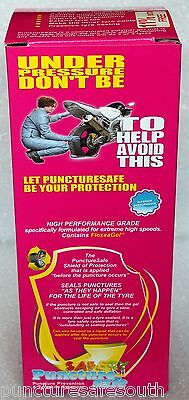 Puncturesafe Tyre Sealant Ultraseal kit 780ml 11% free tools, extras free del
