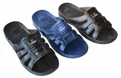 BT-2090 Men`s Casual Sandals Slides Slippers Indoor Outdoor Beach Pool Shoes