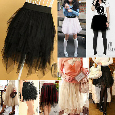Au Seller Tulle Tutu Tier Layered Dance Skirt Dress Multiple Style Dr004