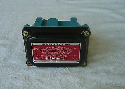MICRO SWITCH  Explosion Proof Switch    1EX1