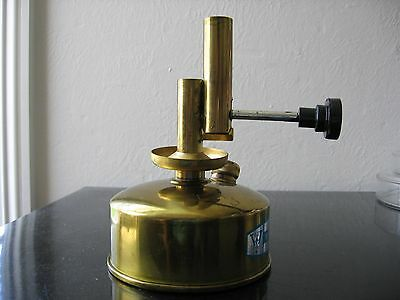 LAB  brass alcohol burner