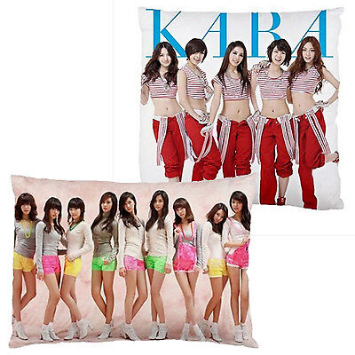 NEW CUSHION CASE PILLOW CASE - KPop KARA Girls Generation SNSD