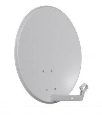 60CM Quality Solid Satellite Dish Sky Freesat Perfect for Seaside Location 600mm