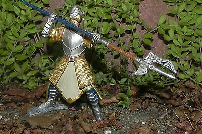 Medieval Griffin Knight with Pole-arm Figurine