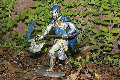 Medieval Griffin Knight with Axe Figurine