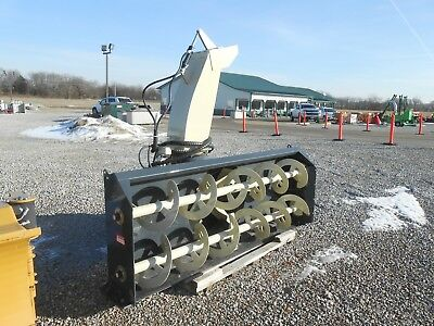 "GRAY Allied YC9620QL 96"" Tractor PTO SnowBlower:4BladeFan,S-Shoes:BESTBUY&BRAND!"