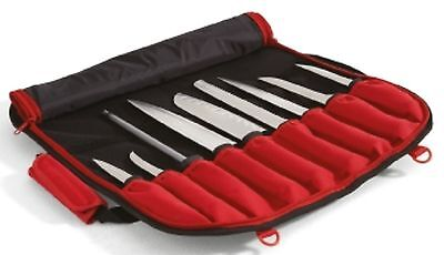 CHEF'S KNIFE BAG  RED / BLACK 2 layer for knifes and accessories