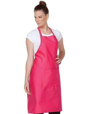 Aprons with pocket Bib Style Bright Colours for Cafes Bars Clubs Restaurants