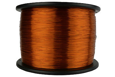 Magnet Wire 25 AWG Gauge Enameled Copper 10lb 9950ft 200C Magnetic Coil Winding