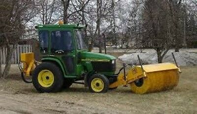 NEW MB HT 7 foot tractor front mount hydraulic drive sweeper broom