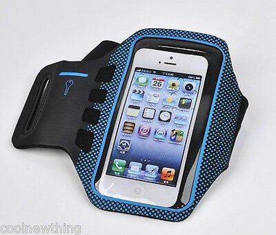 Running Jogging GYM Sport Armband Holder Strap Pouch Case For iPhone SE 5 5S 5C