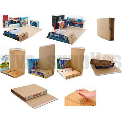 POSTING BOXES Cardboard Book/CD/DVD/Toy Postal Carton Protective Packaging Cheap