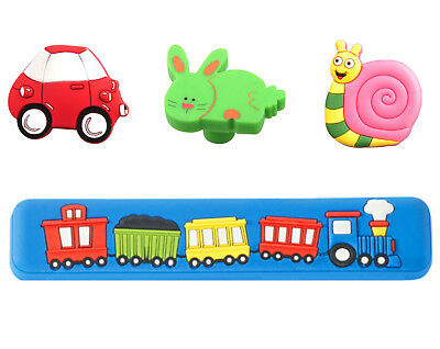 Kids Childrens Drawer Cabinet Cupboard Wardrobe Handles Knobs car/snail/rabbit