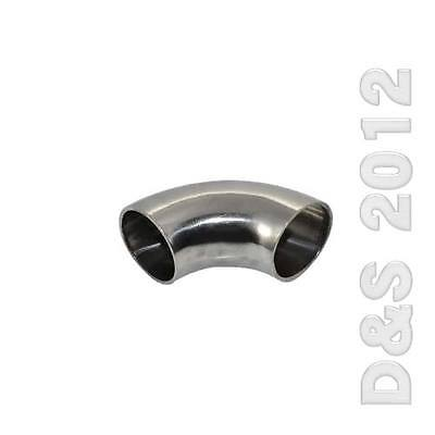 """OD 32MM 1.25"""" Sanitary Weld Elbow Pipe Fitting 90 Degree Stainless Steel 316 SUS"""