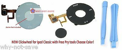 Replacement click wheel Menu button Part for Ipod Classic 5 5th gen A1136 New
