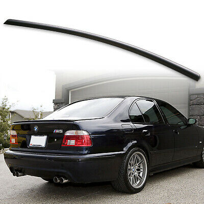 a5adbc60c177 BMW E39 CSL Rear Boot Lid Trunk Spoiler Ducktail Wing Lip Addon 4 ...