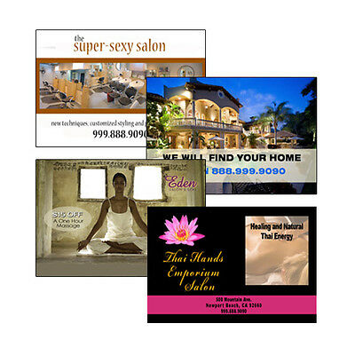 1000 Full Color 4x6 Postcards-1 or 2 Sided-14 Pt Gloss AQ - FREE UPS SHIPPING!
