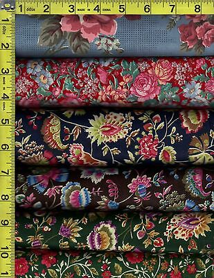 Assorted Discounted Floral Prints Vintage Look Patterns Free Shipping    93