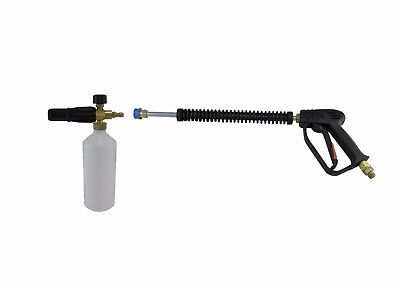 Jet Wash Compact Quick Release Gun Lance & Snow Foam Karcher HD& HDS Compatible