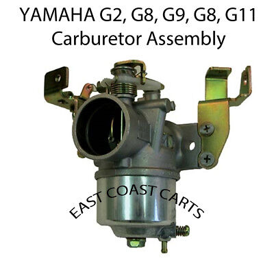 Yamaha Carb 1985-2001 G2-G11 Golf Cart 4 Cycle Carburetor Assembly J38-14101