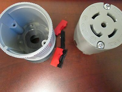 Arrow Hart Receptacle 6624 30 A 277/480 V 3 Ph 4 Pole 5 Wire New Surplus