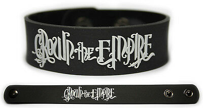 CROWN THE EMPIRE Rubber Bracelet Wristband The Fallout Limitless The Fallout