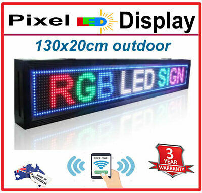 full color led scrolling message 100cmx20cm