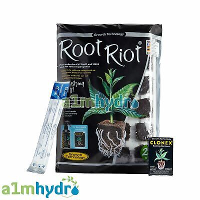 Root Riot Clonex Propagation Cloning Kit For Rooting And Cuttings Hydroponics