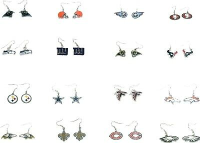 All Teams NFL Official Licensed dangle earrings 10023