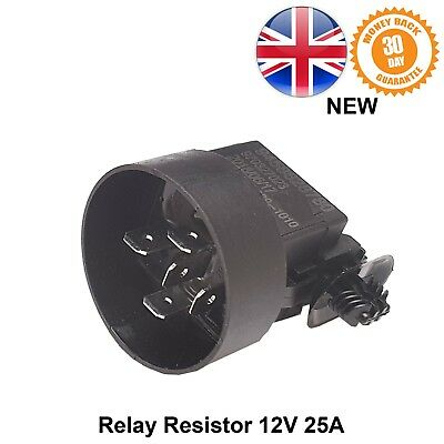Peugeot 106 205 405 Electric Relay Switch Resistor 12V 25A 5 Pin NEW