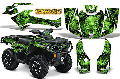 Can-Am Outlander 500 650 800 1000 2013-2018 Graphics Kit Creatorx Inferno G