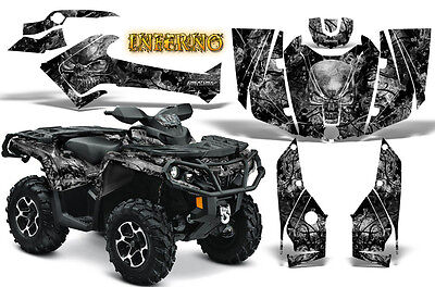 Can-Am Outlander 500 650 800 1000 2013-2018 Graphics Kit Creatorx Inferno S