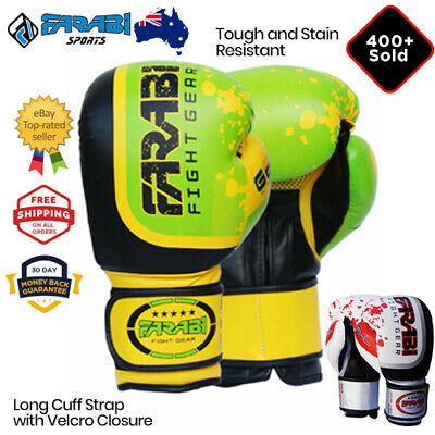 Boxing Gloves 16 oz MMA Sparring Punching Bag Mitts UFC Fight Training