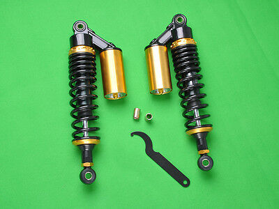 """Kay 12.5"""" 320mm Air Gas Shock Absorber Replacement GL500 Motorcycle Suspension"""